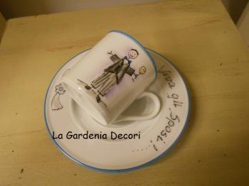 Coppia tazzine da caffe'