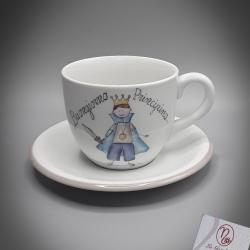Tazza da colazione con principe