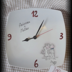 Orologio sposi