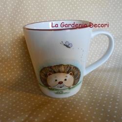tazza mug con riccio